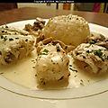 Filet de sole sauce bonne femme (recette du mooc afpa semaine 4)