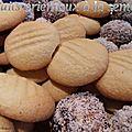 Biscuits orientaux a la semoule