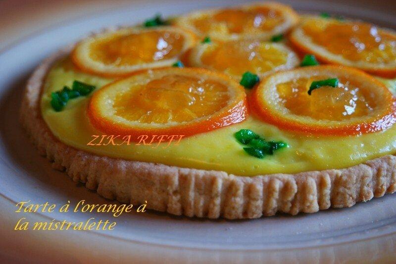 tarte orange mistralette1