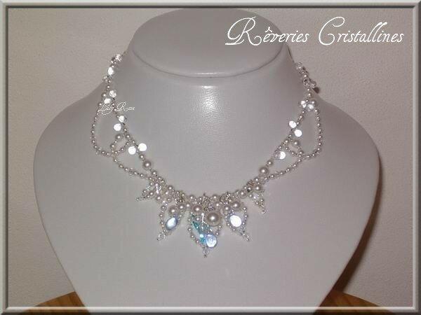 collier perle swarovski modele