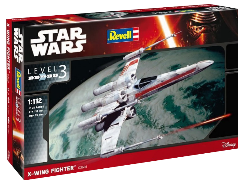 x-wing revell boxed 2015