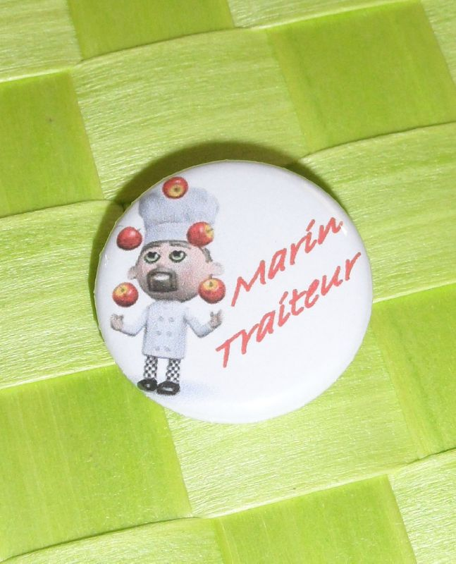 badge marin traiteur