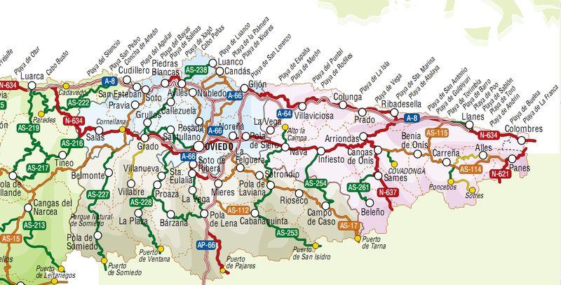 Asturias: plage de Niembro   Les globetrotters en vadrouille