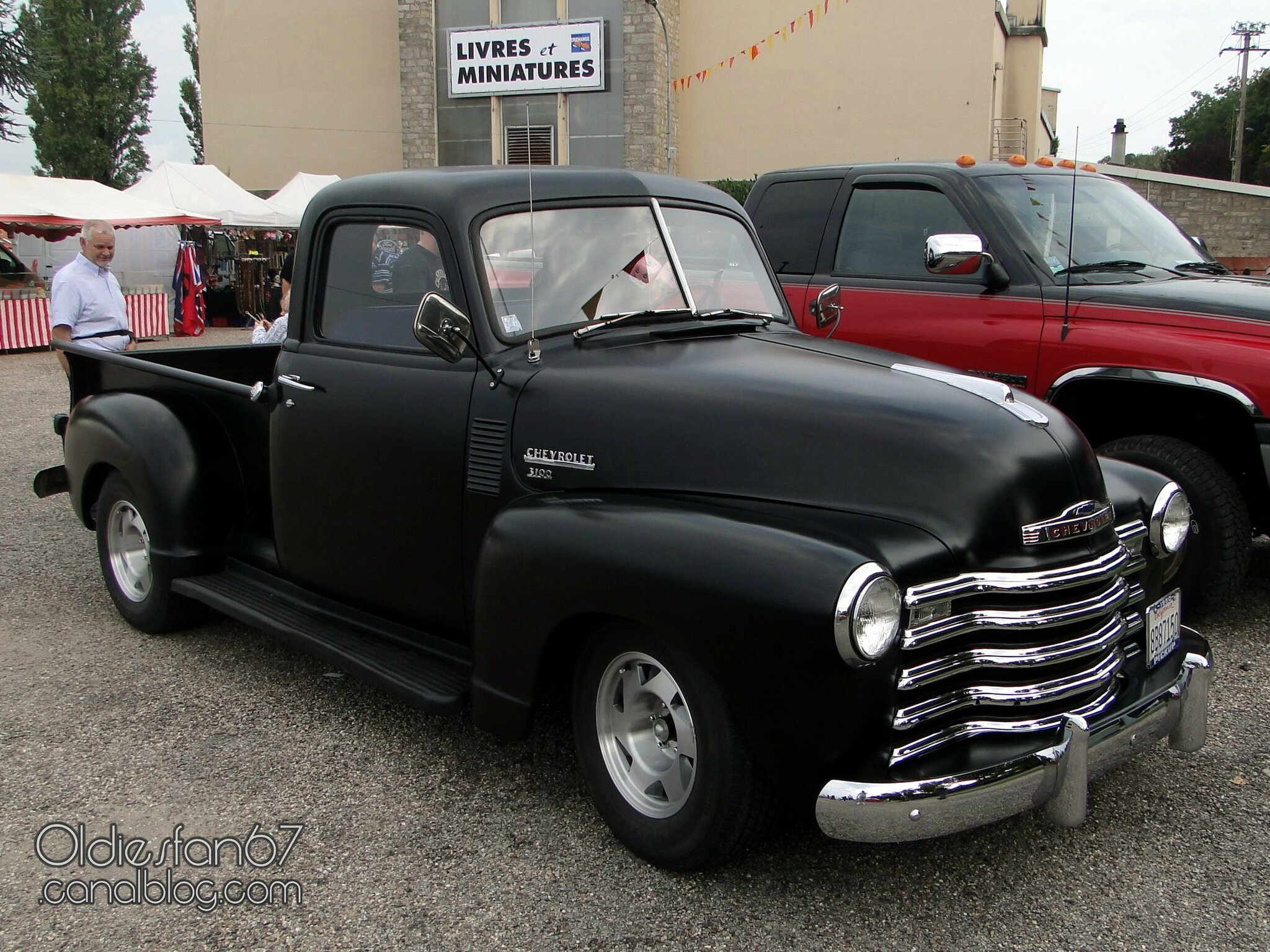 chevrolet 3100 pickup 1950 oldiesfan67 mon blog auto. Black Bedroom Furniture Sets. Home Design Ideas