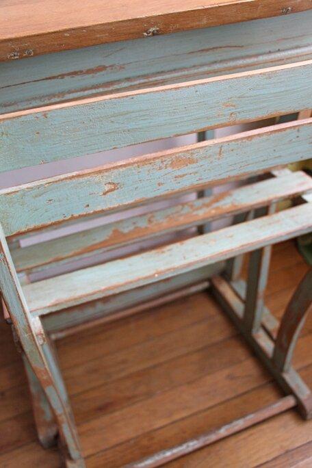 bureau-enfant-vintage-detail