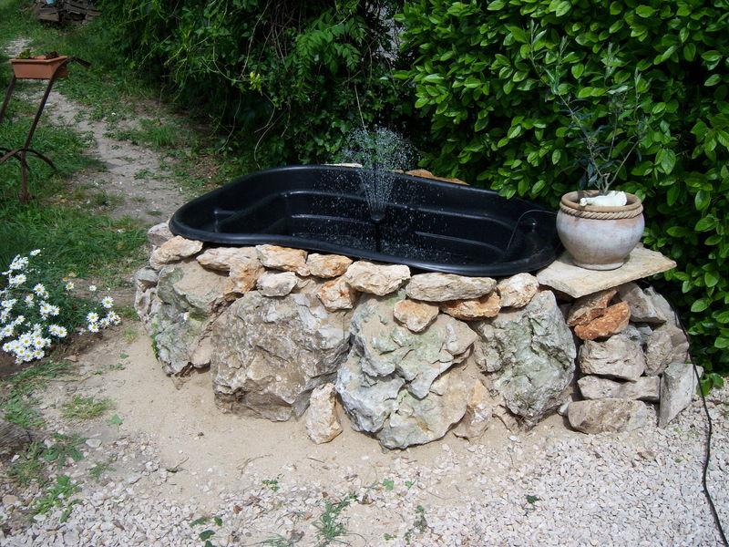 Creation bassin de fil en couture - Jet d eau pour bassin ...