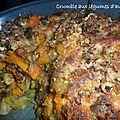 1031 Crumble aux légumes d'automne