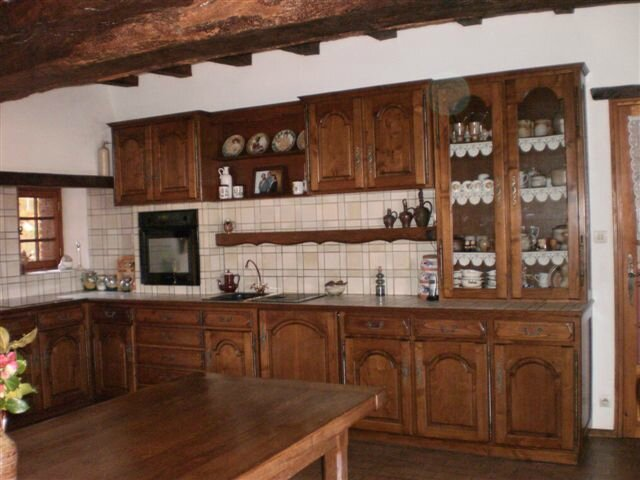 4 le salon la salle manger la cuisine belle for Salle a manger 7m2