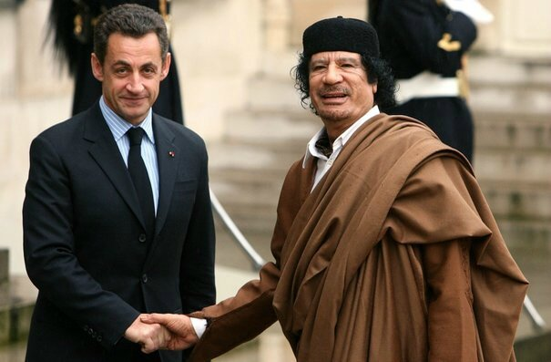 Kadhafi Sarkozy estrosi