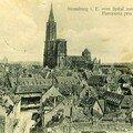 Strasbourg, sur cartes anciennes (12)