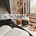 Top ten tuesday # 73