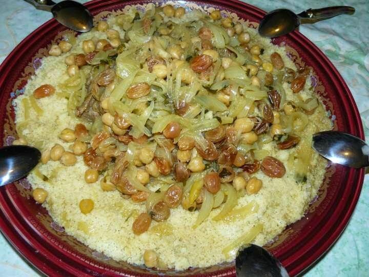 Idee repas facile couscous marocain recette couscous for Idee repas convivial pas cher