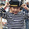 Honfleur,150éme anniversaire de la fête des marins.