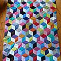 Vasarely blanket