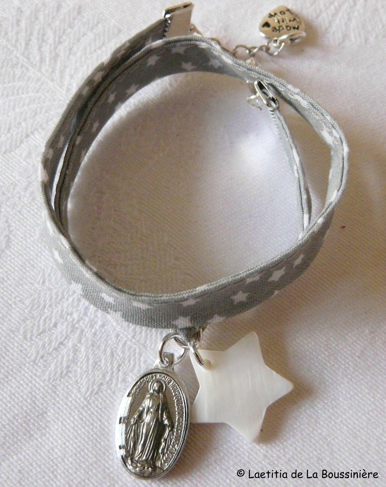 Bracelet Couronnée d'Etoiles