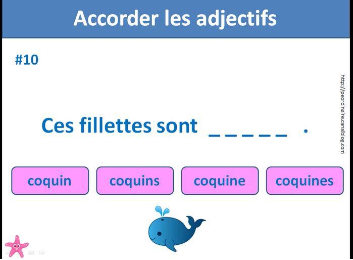 adjectif 2