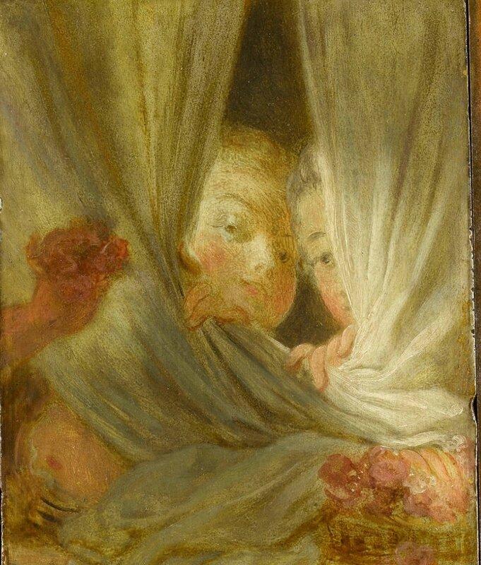 Les curieuses Fragonard détail