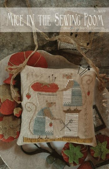 mice in the sewing room