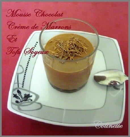mousse chocolat creme de marrons tofu soyeux 01