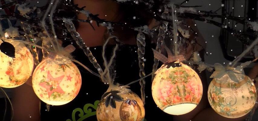 Vidéo explicative pour commencez vos boules de Noël