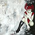 - Autoportrait au verre