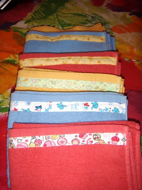 serviettes de bain d cor es de biais les tr sors de noah. Black Bedroom Furniture Sets. Home Design Ideas
