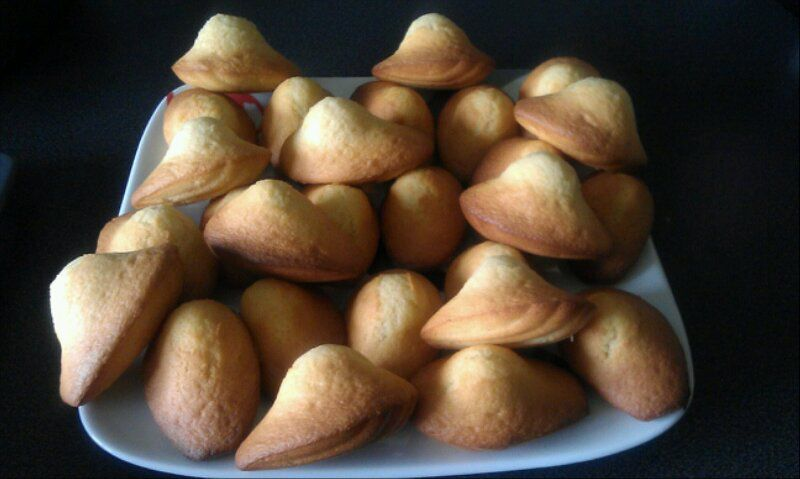 madeleines dodues!