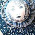 portrait bohème brodé 3 marimerveille