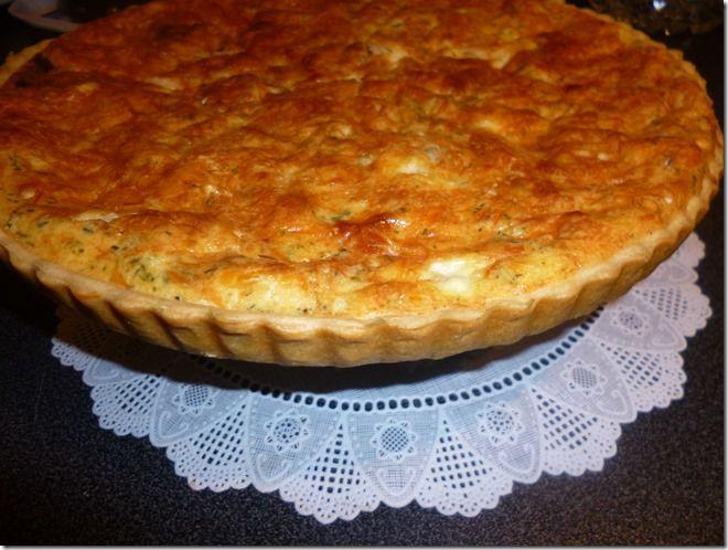 Tarte Aux jambon et tomate séchée avec pâte Brisée au thermomix