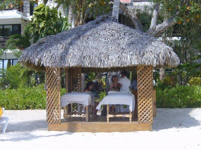 Massage sur notre plage