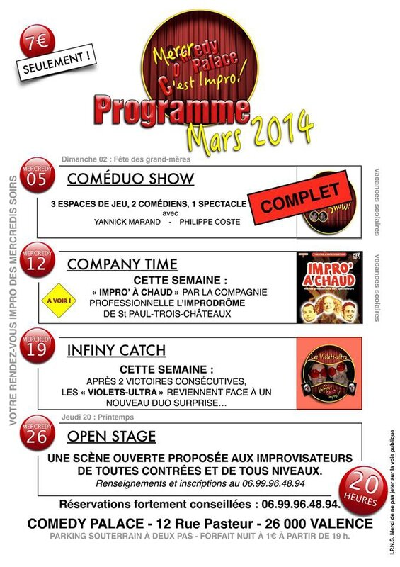 Fly Comedy Palace Mars 2014