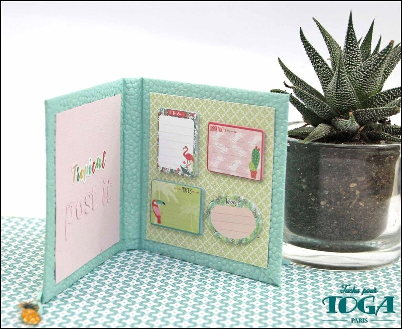 PPK tropical mini bloc pour mini notes DT Tacha 4p