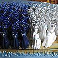 mariage MD 100 chats bleu et blanc