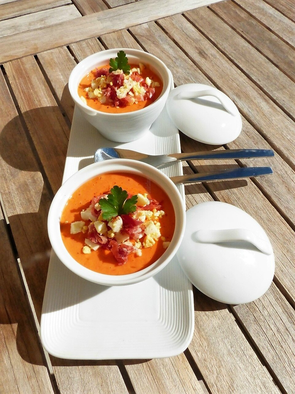 Salmorejo (soupe froide andalouse)