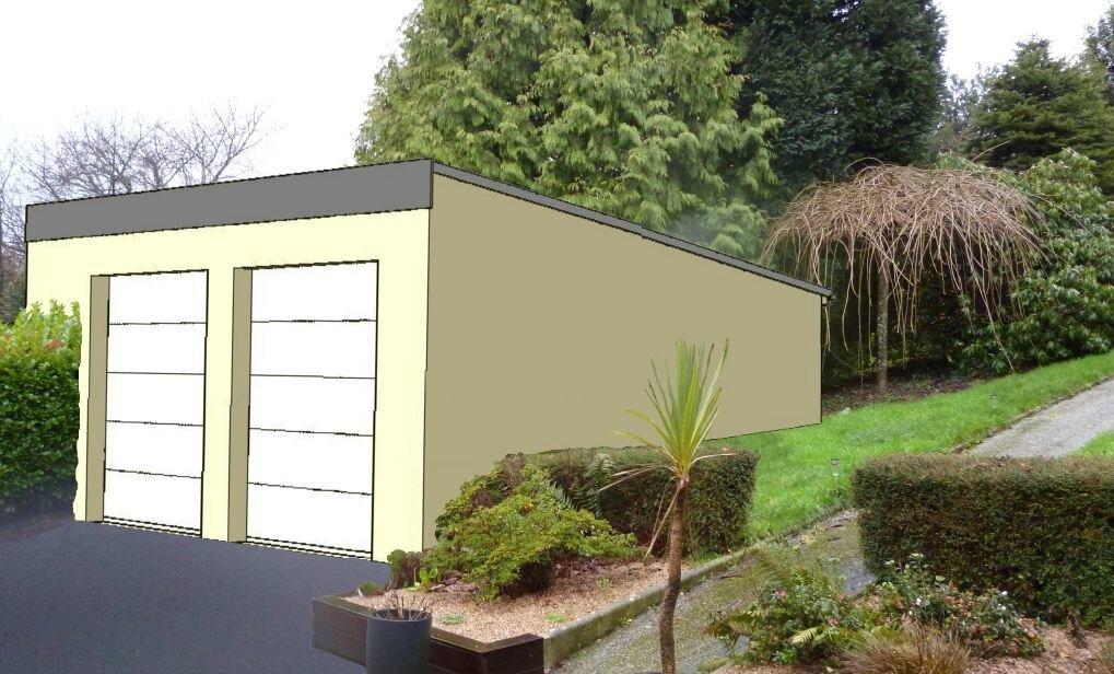 Ralisation DUn Garage Ralisation Des Plans De  Plan B