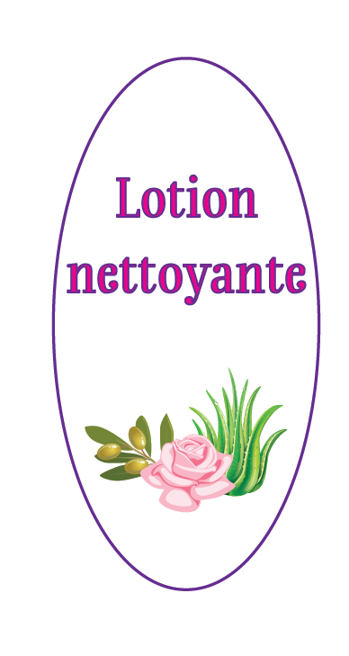 lotion nettoyante version ovale