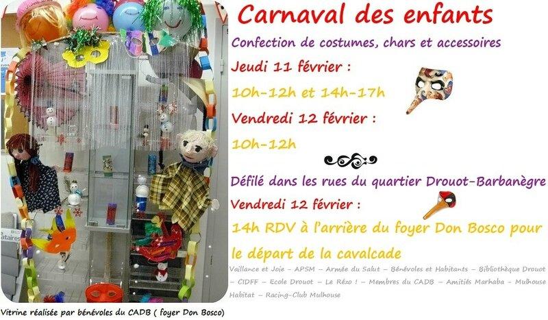Quartier Drouot - Carnaval des enfants