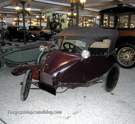 Scott tricar de 1923 (Cité de l'Automobile Collection Schlumpf à Mulhouse) 02