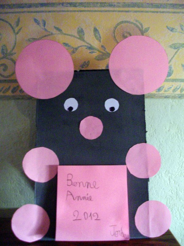 Souris Post it