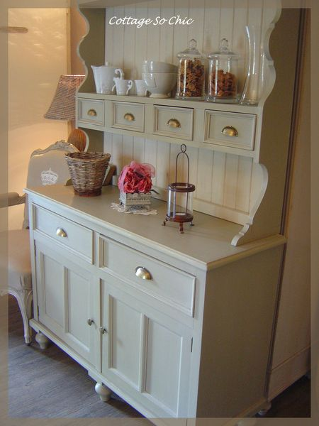 Buffet campagne so chic cottage so chic - Meuble salle de bain style campagne ...