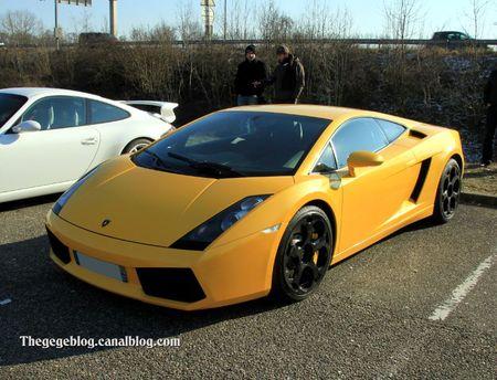 Lamborghini gallardo coupé (Rencard Vigie fevrier 2012) 01