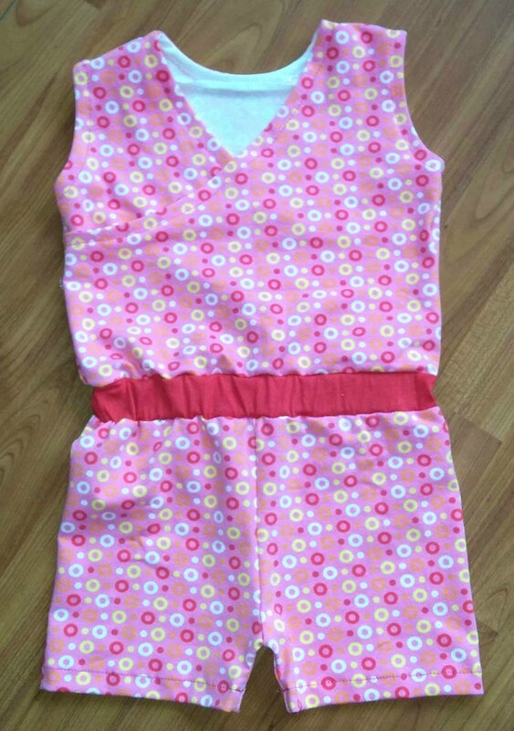 combishort rose Mimie- copie