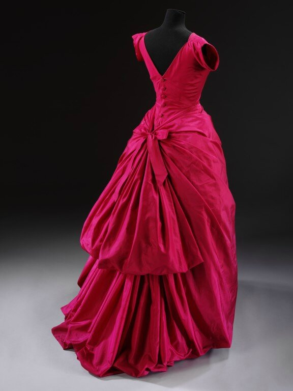 Balloon Gown, Balenciaga, 1953-1954