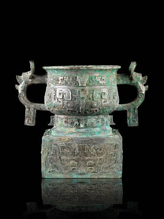 An_important_and_rare_archaic_bronze_ritual_offering_vessel__fangzuo_gui1
