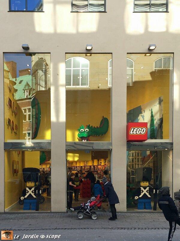 Lego store of Copenhagen