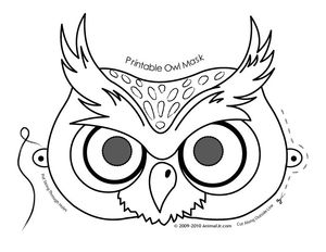 owl-mask-coloring-page