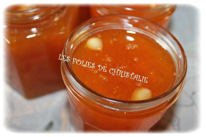 Confiture abricots 7