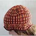 Test knit n° 5 : chrysolina americana hat