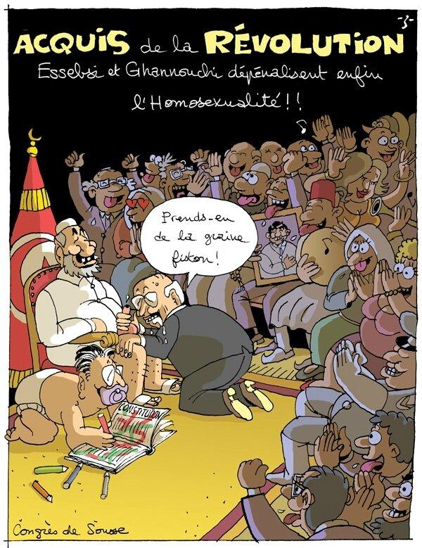 """Résultat de recherche d'images pour """"caricature djihadiste Tunisie"""""""