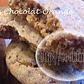 Cookies chocolat - orange (au thermomix)